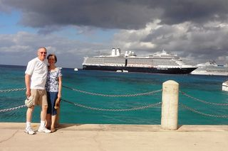 Steve & Lanita & ship